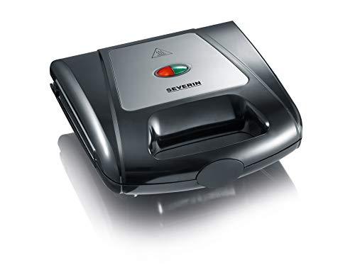 SEVERIN Sandwich-Toaster, 3-in-1 Funktion (Sandwich-, Grill-, Waffelplatte), 1.000 W, SA 2968,...