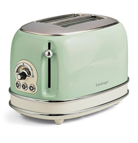 Ariete 155 Toaster mit 2 Schlitzen Vintage Vert