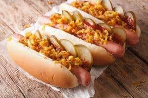 leckere Hot Dog Brötchen mit einem Durchlauftoaster machen